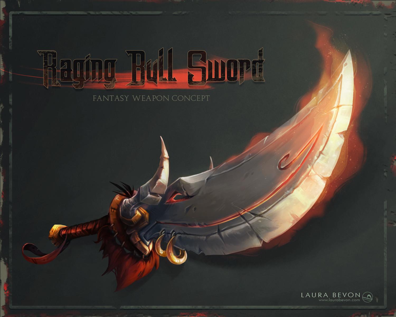 Raging Bull Sword