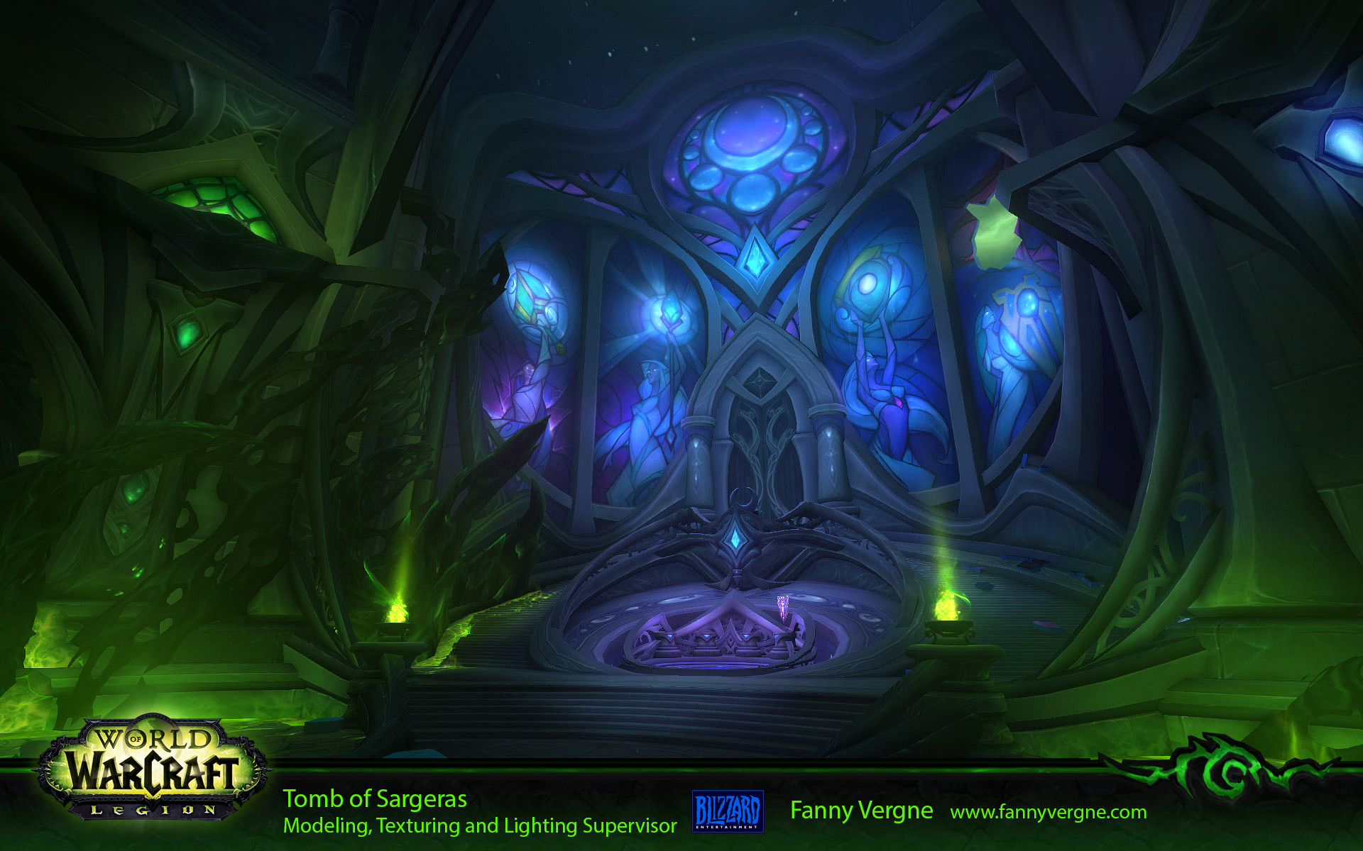 Fanny Vergne Tomb Of Sargeras Raid World Of Warcraft