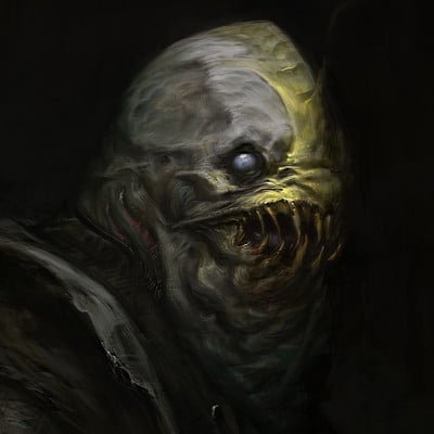 Antonio de luca uomo pesce