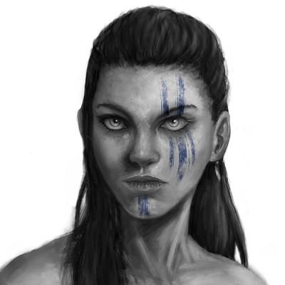 Pepo skywalker goddess of war