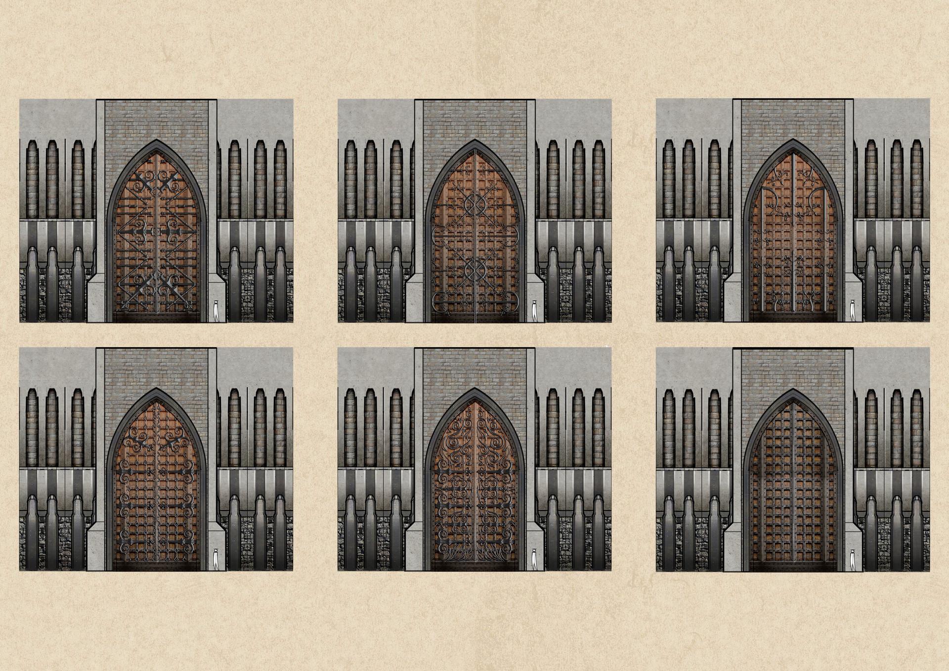 Tudor morris gate