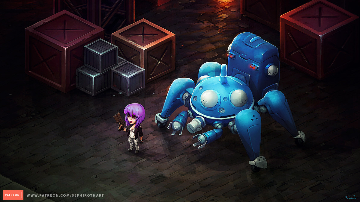 Isometric Ghost in the Shell