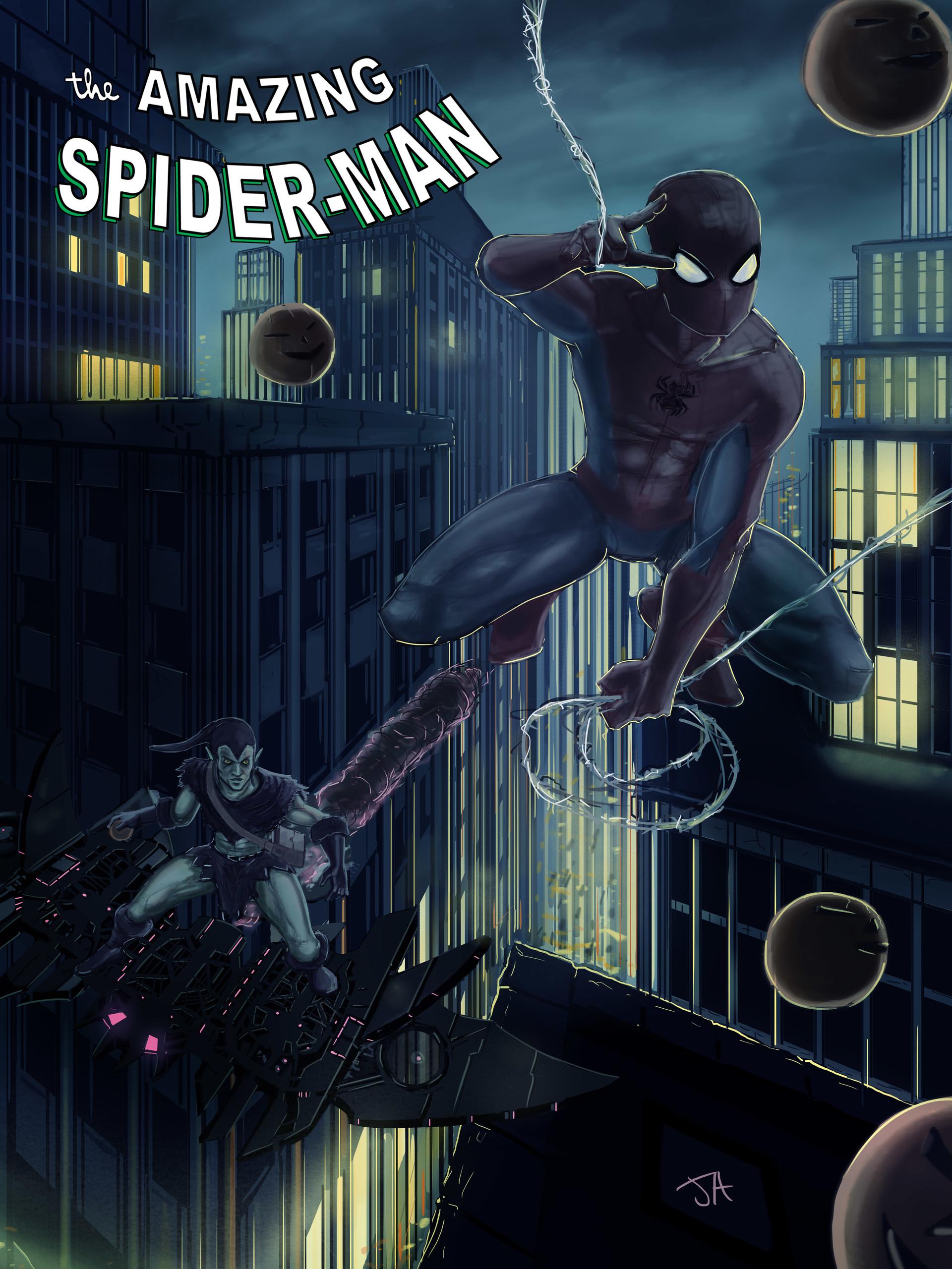 Jonathan allarie spiderman5