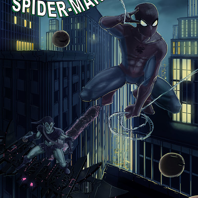 Jonathan allarie spiderman5