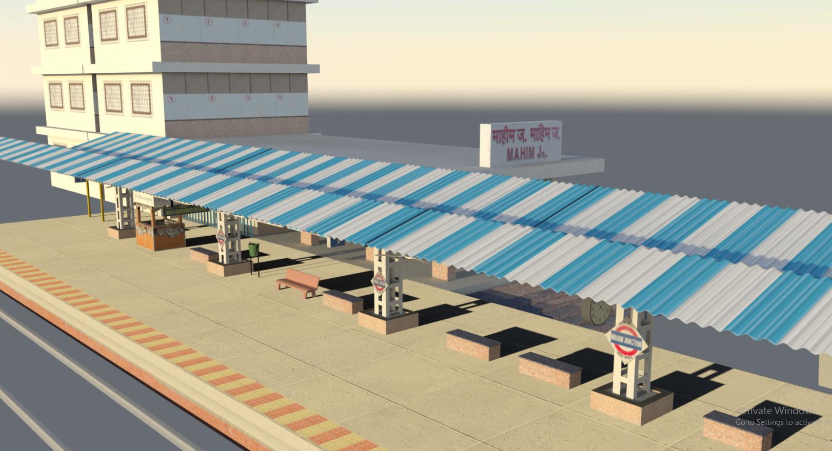 Rajesh sawant mahim platform 2