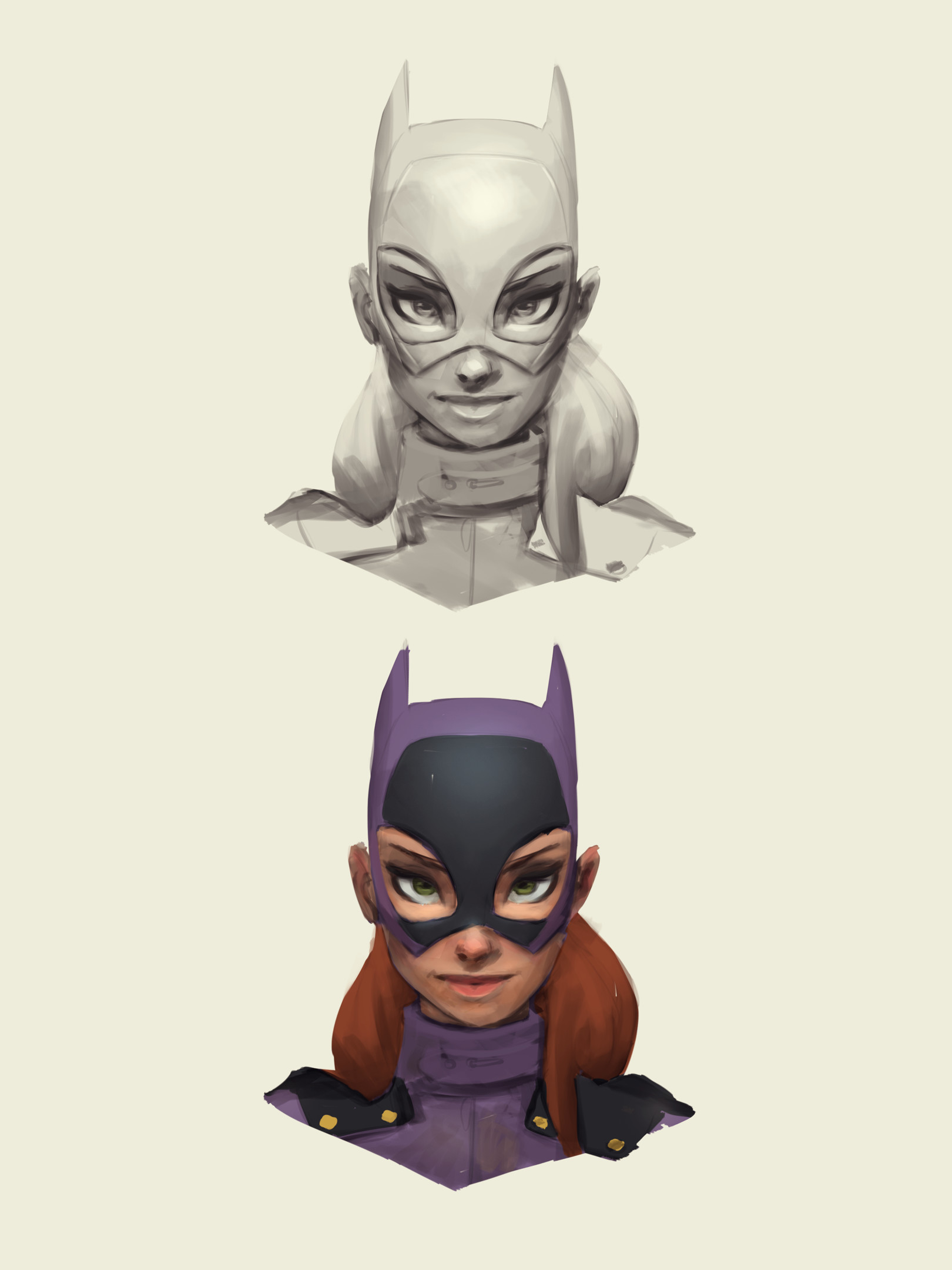 Corey smith batgirl artstationconcept