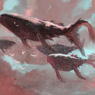 Michael doig skywhales wip 03