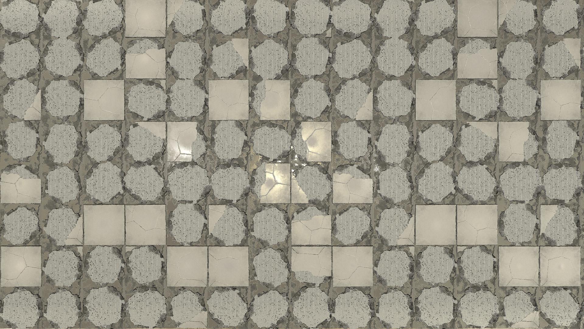 stone floor tile texture.  Artstation floor tiles jordan hey broken shiifo Broken Tiles Floor and Decorations gallery Ideas