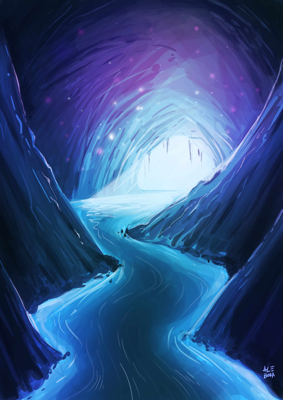 Alessandro bora grotta