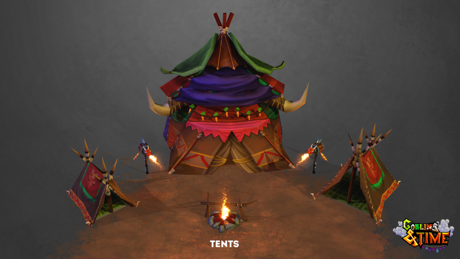 Tent and Camp Assets - Goblin & Time