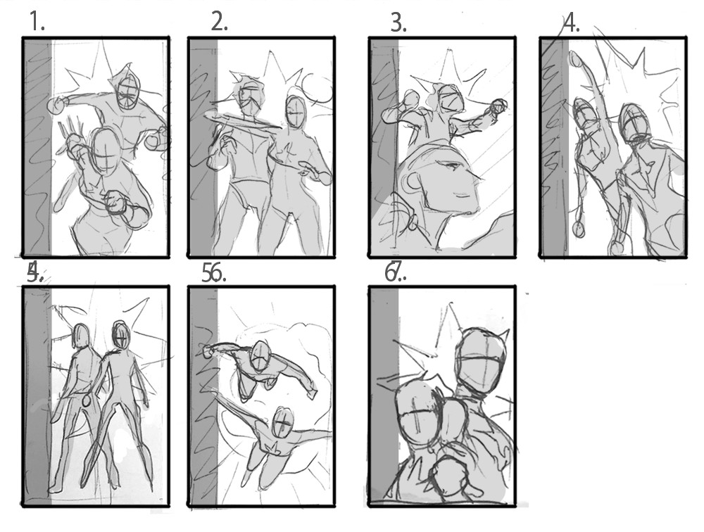 David nakayama captainmarvel layouts