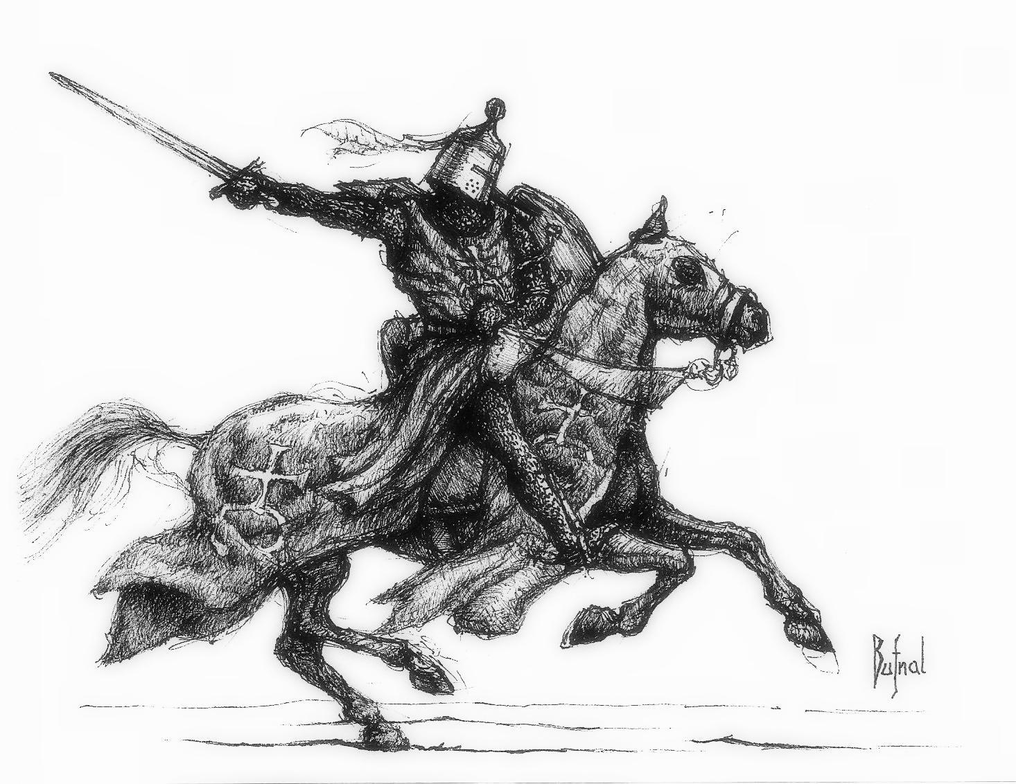 Dariusz bufnal polish knight 13c 2