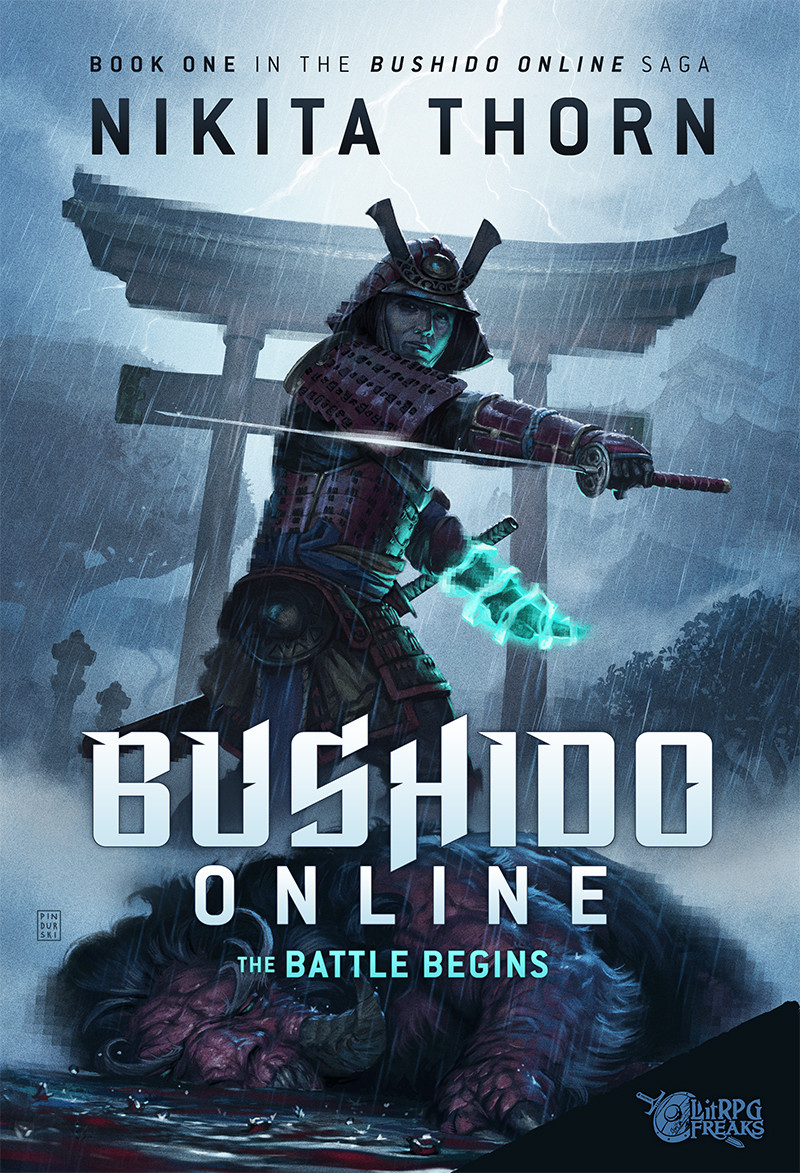Bushido Online cover design