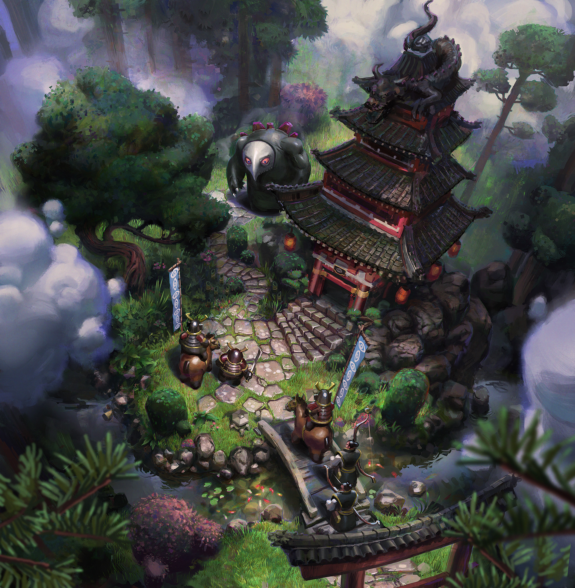John wallin liberto japanese landscape strategy