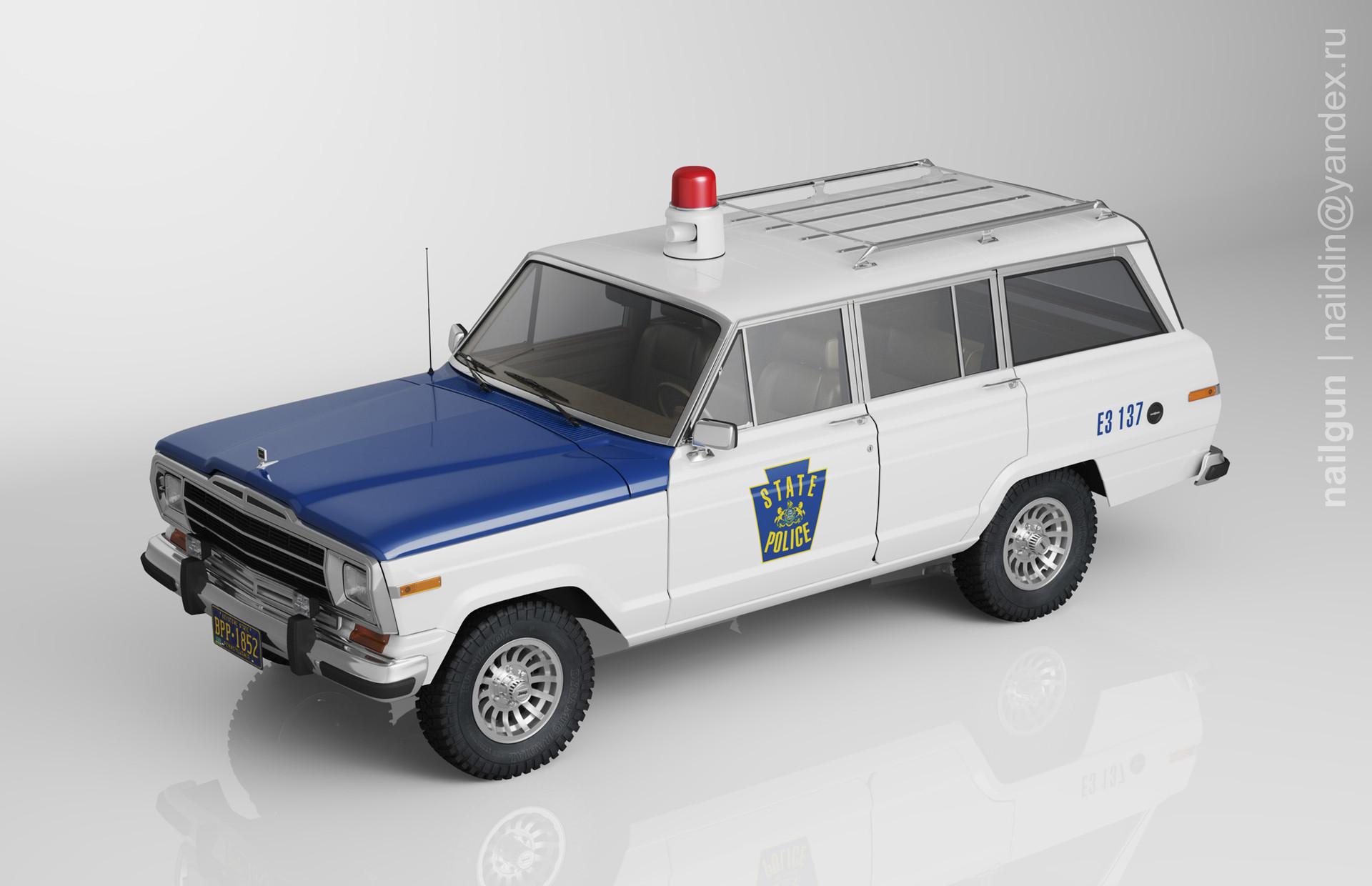 Nail khusnutdinov pwc 039 000 jeep wagoneer miniature