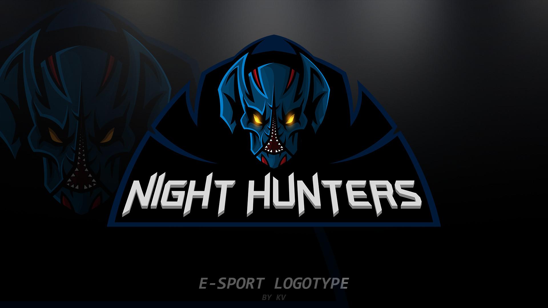 𝕍𝔸𝔻𝕀𝕄 𝕂𝕆𝕊𝔸ℝ𝔼𝕍 night hunters dota 2 e sport logo