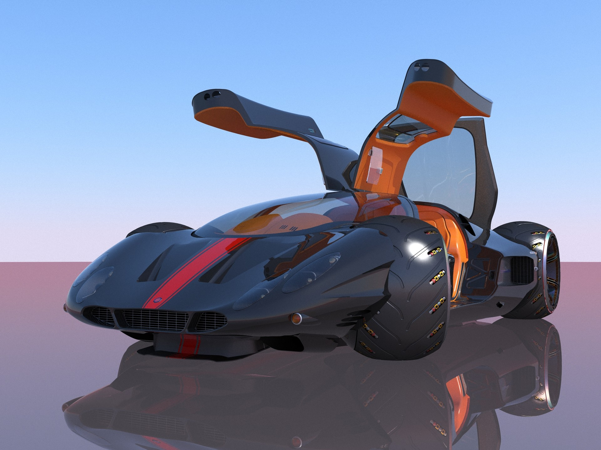 Joachim sverd supercar concept48doors open