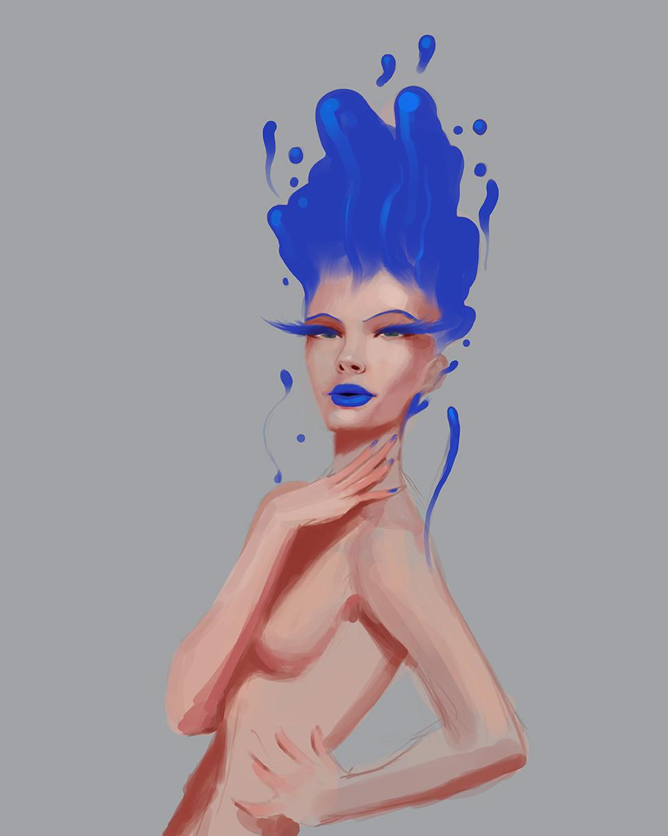 Giovani kososki color girl