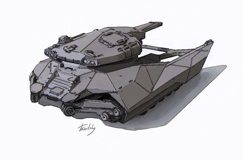 Anton tenitsky mudworld anton tenitsky tank back