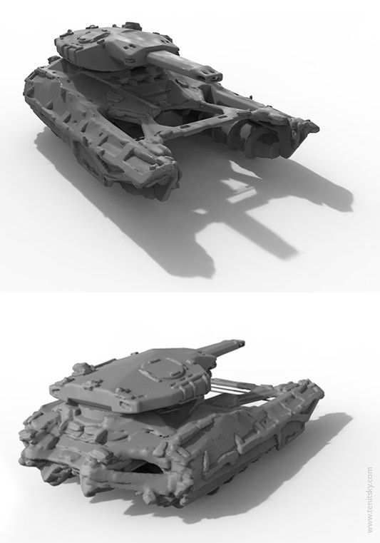 Anton tenitsky mudworld anton tenitsky tank 3d
