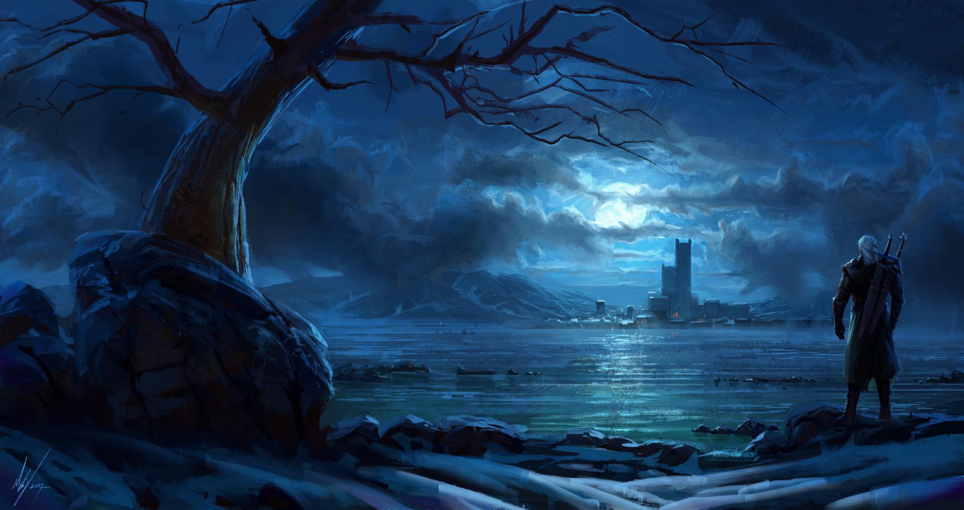 Michal kus witcher nighttoremember1