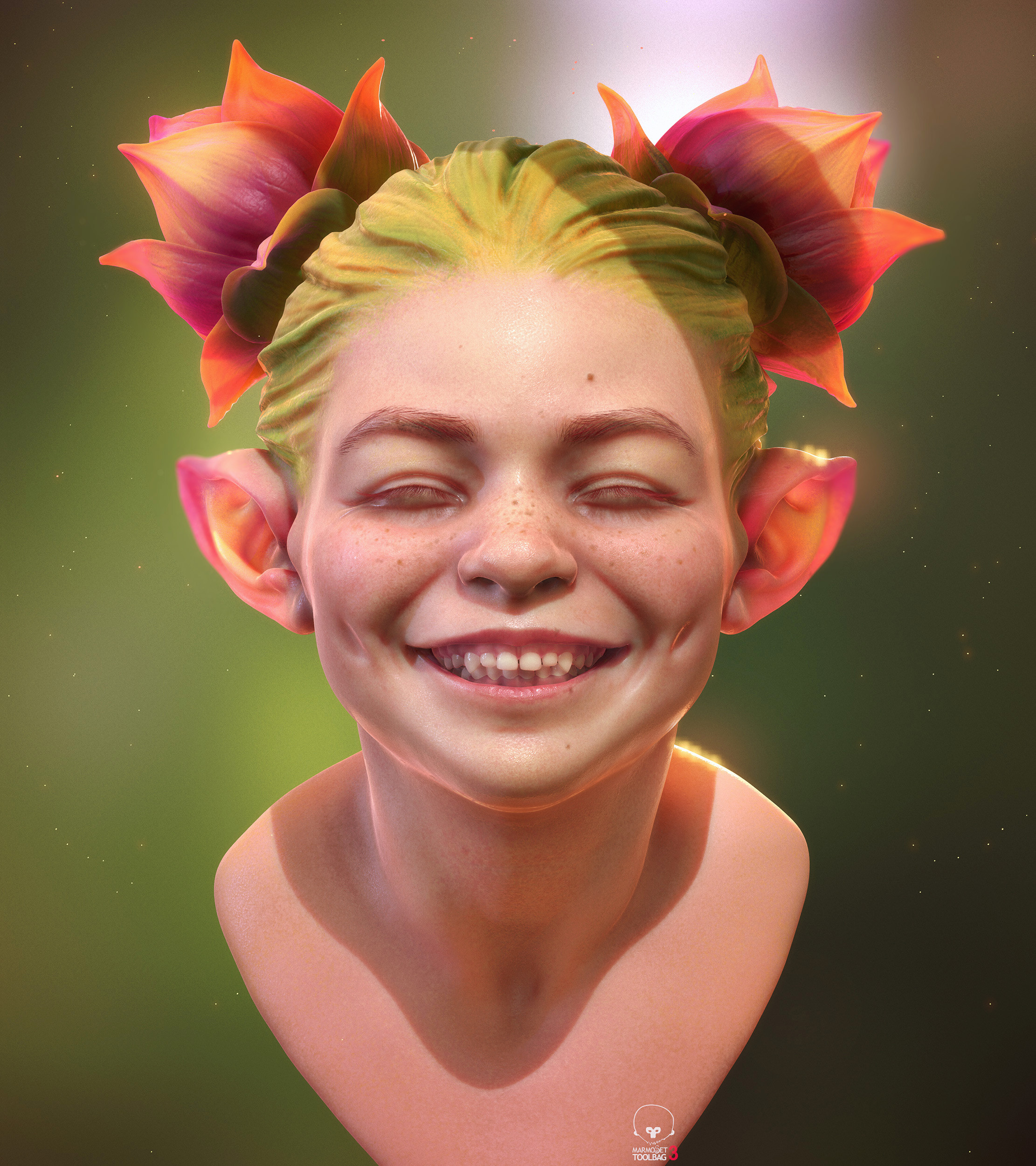 Pixie - marmoset toolbag experiment
