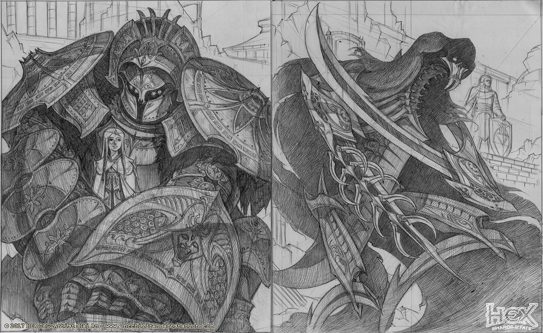 Hai hoang bladevorpus sketch