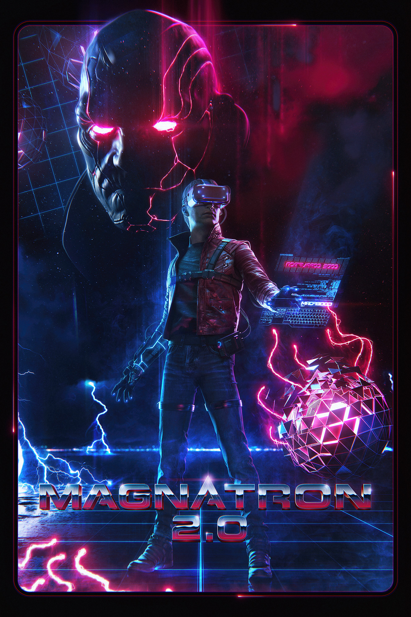 Jeronimo gomez magnatron 2 poster small final version 4 post