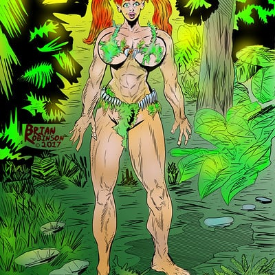 Brian robinson jungle woman 5 19 2017 color webready
