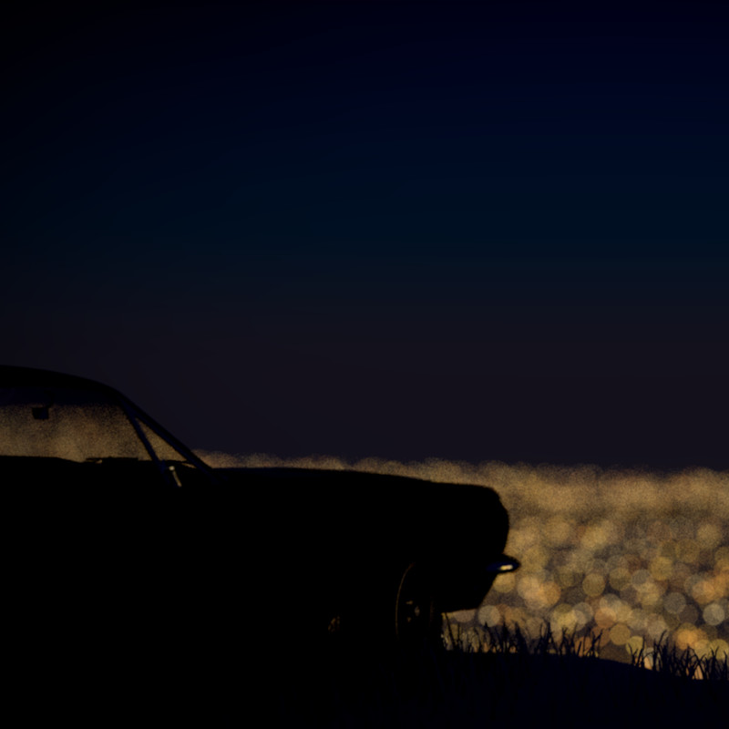 A night look-out over the city