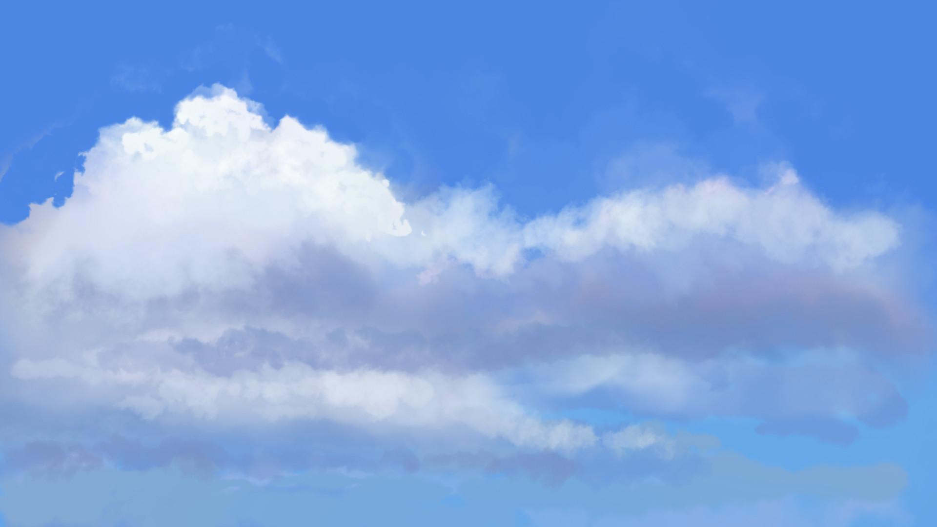 Michiel van den heuvel plein air clouds