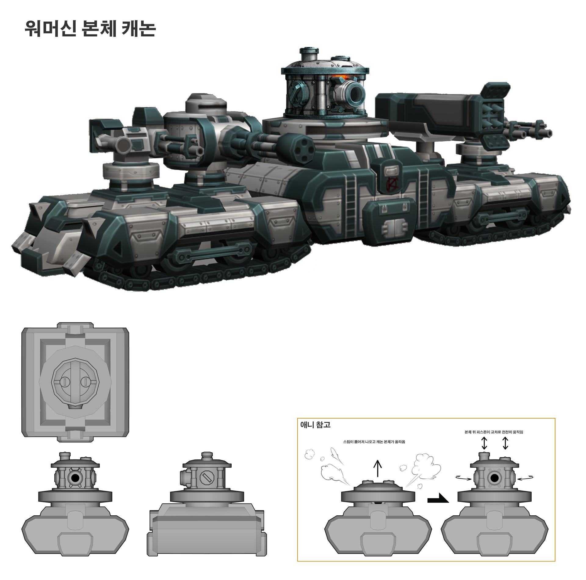 R o iaki boss1 warmachine cannon modi