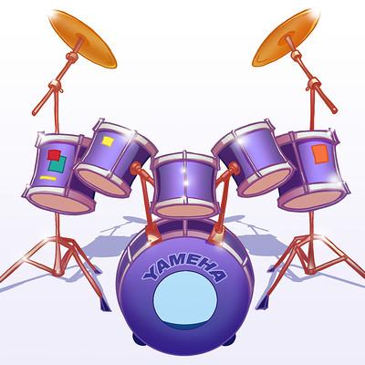Mar hernandez art drums