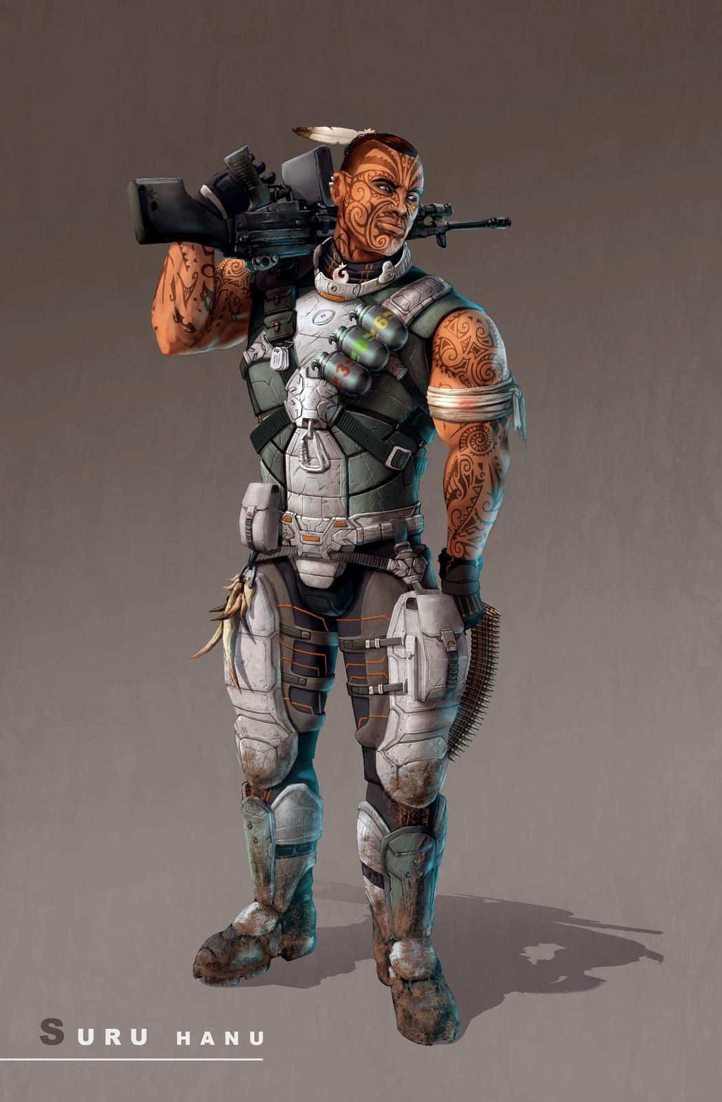 Main Character Concept Art