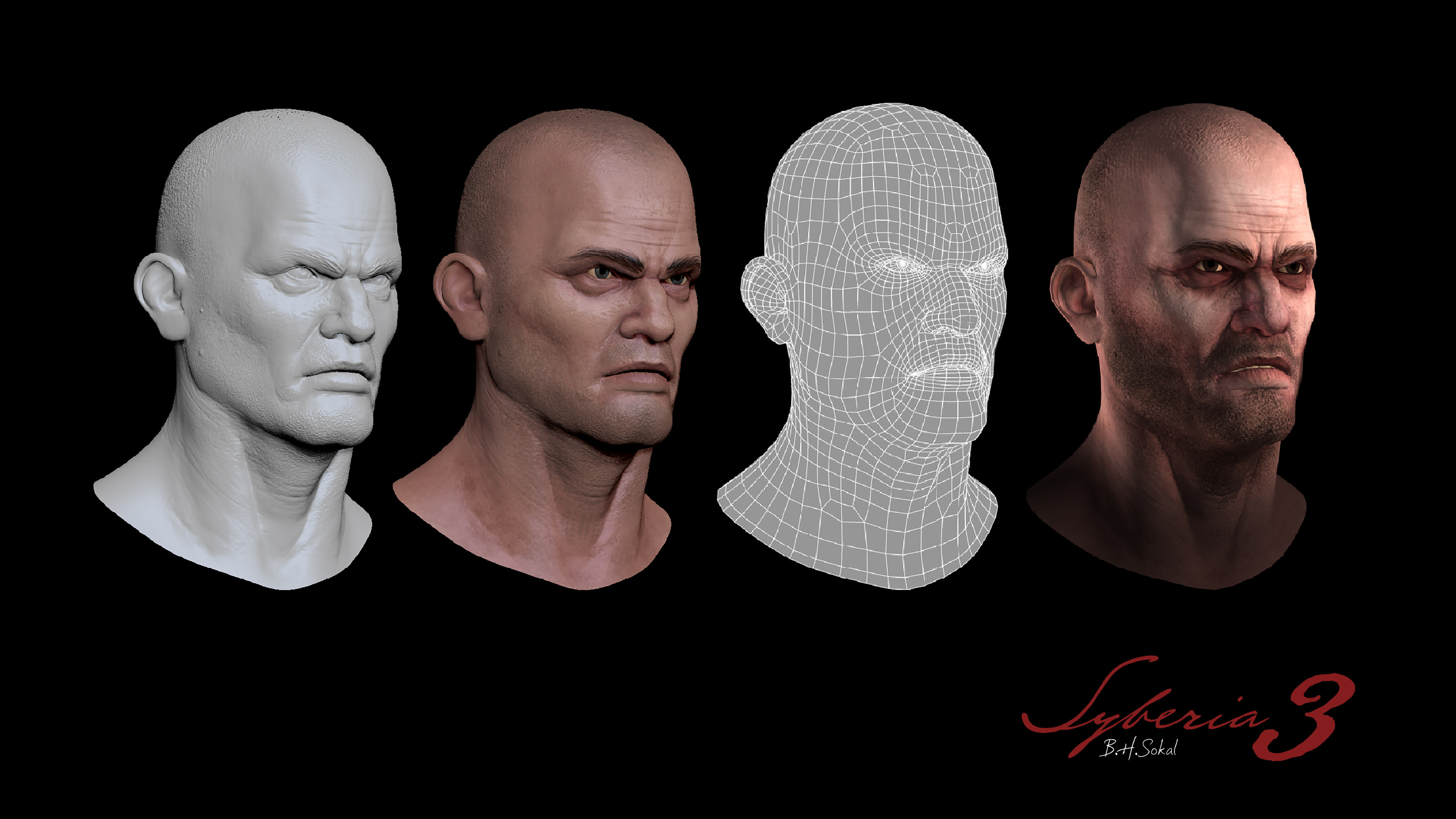 Zbrush/3Ds Max - Head