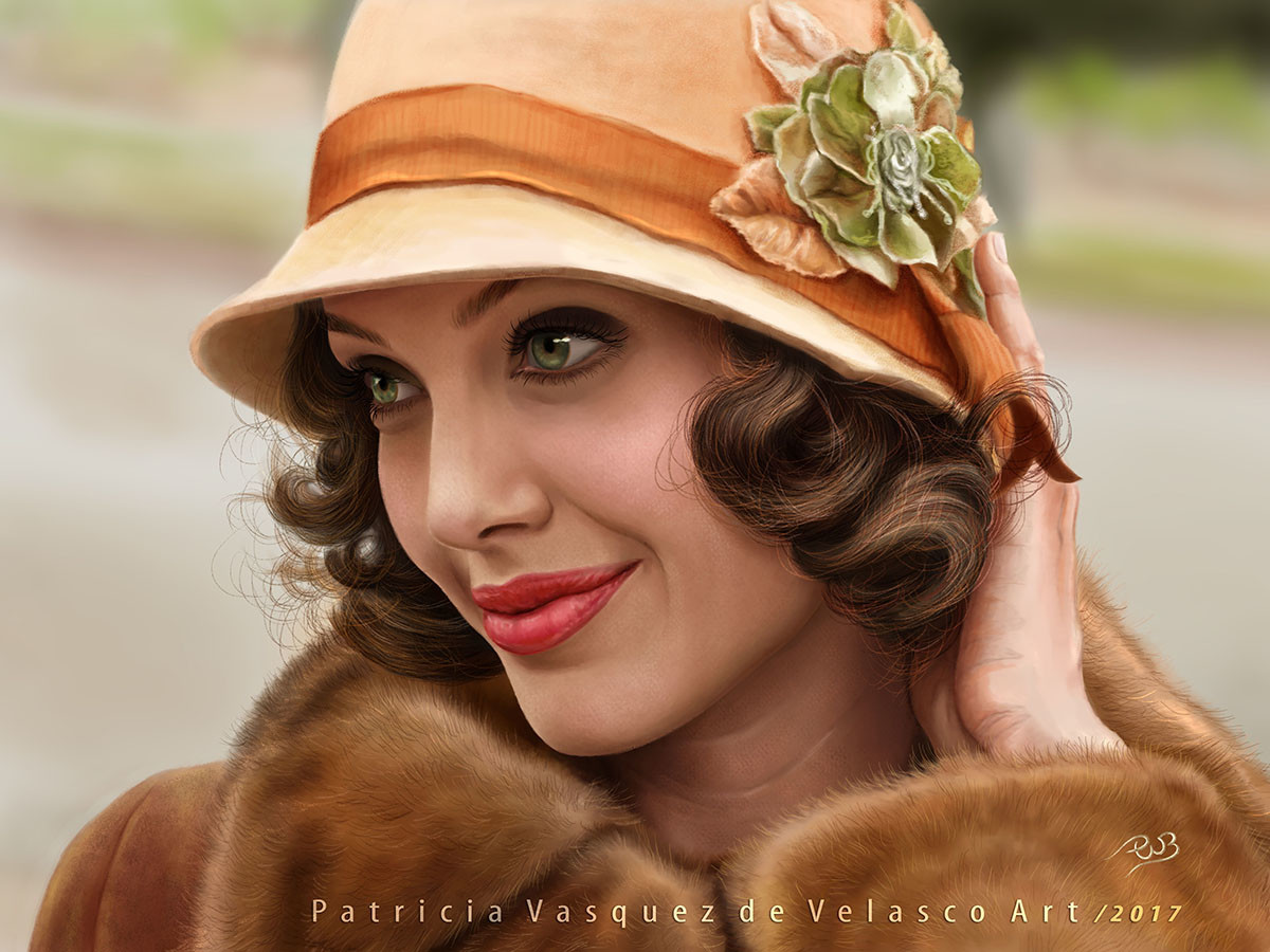 Patricia vasquez de velasco angelina art