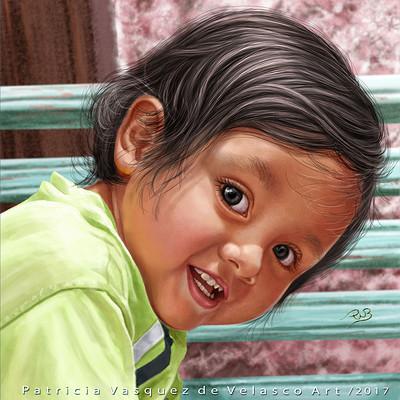 Patricia vasquez de velasco nino de huancayo process art