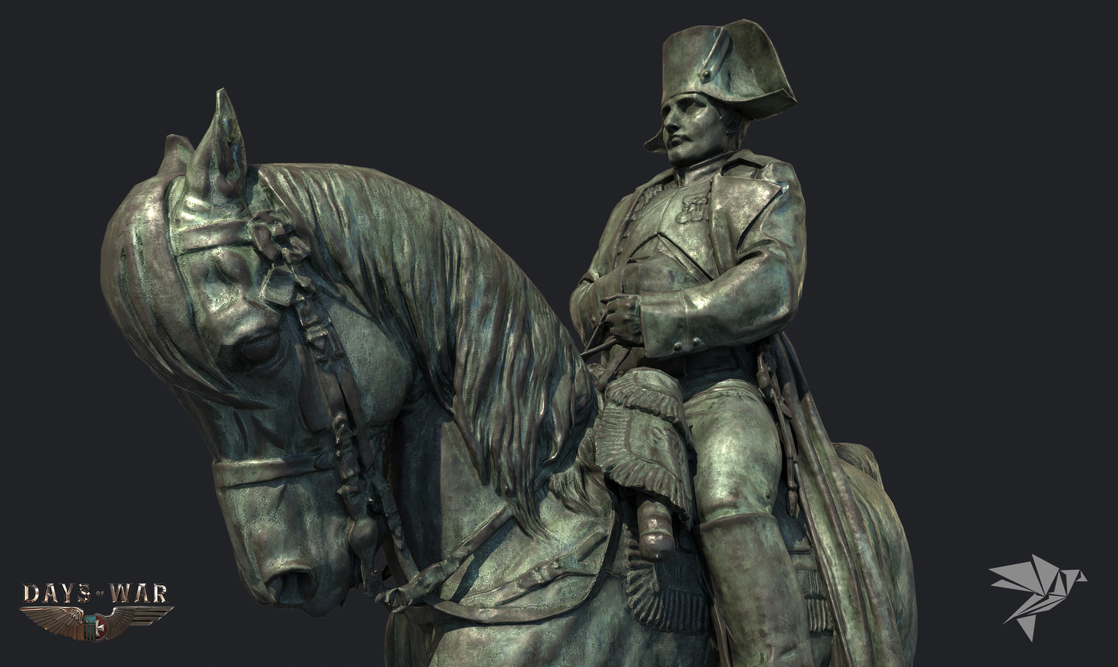 Days of War Napoleon Statue