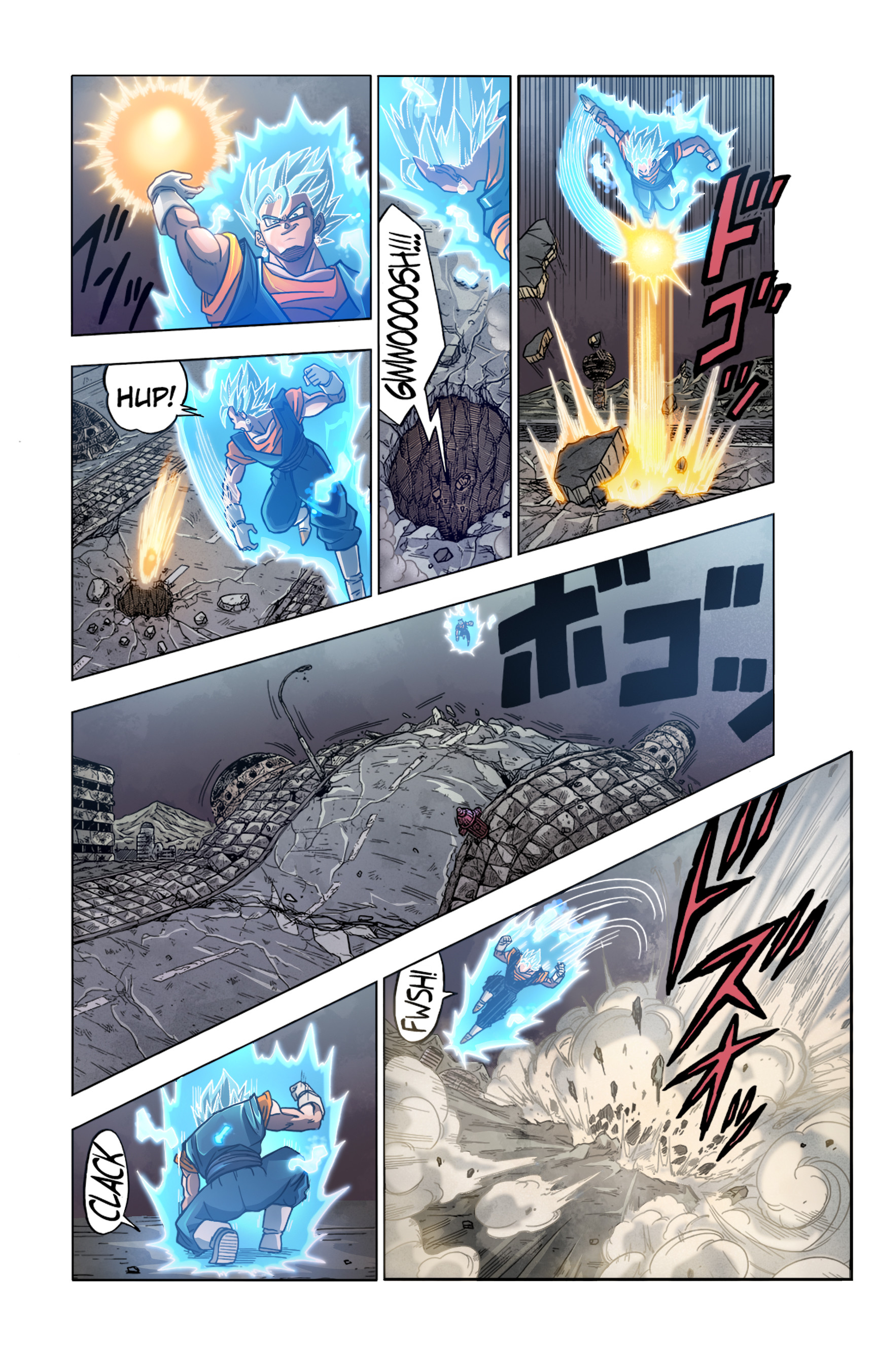 Jay F Dragon Ball Super Manga Color