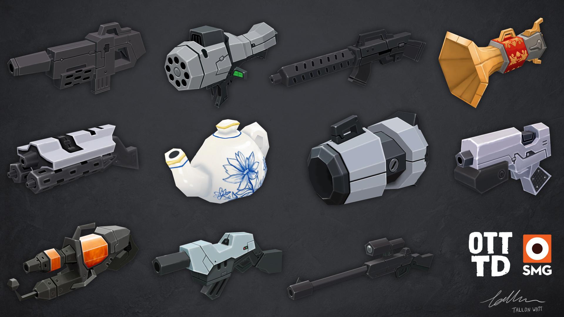 Tallon watt smg guns1