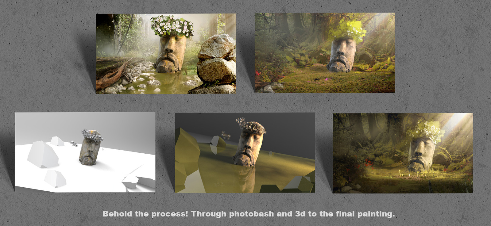 Photobash and renders
