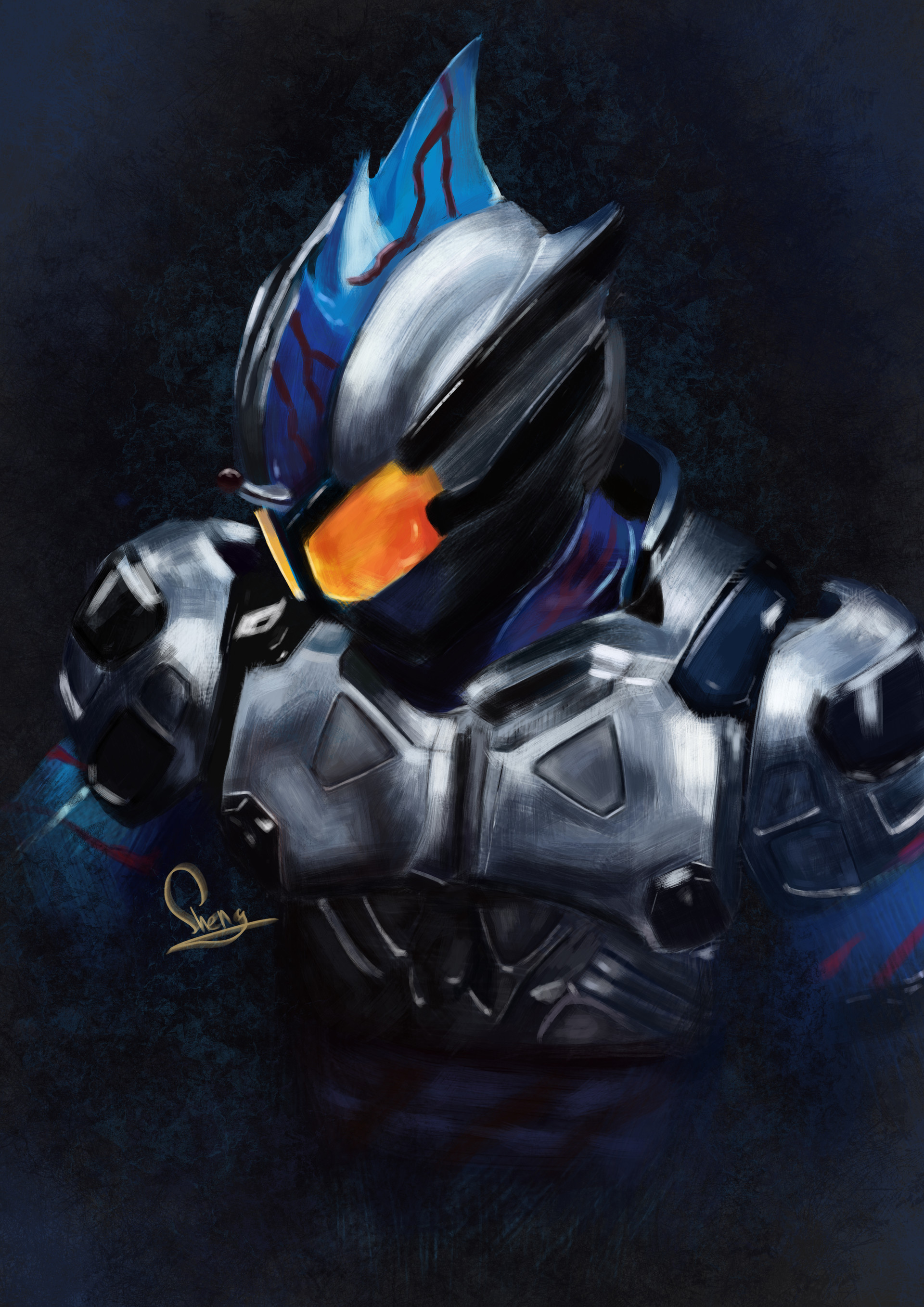 Yet Sheng Lee Kamen Rider Amazon Neo
