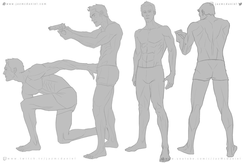 Anatomy Art Study