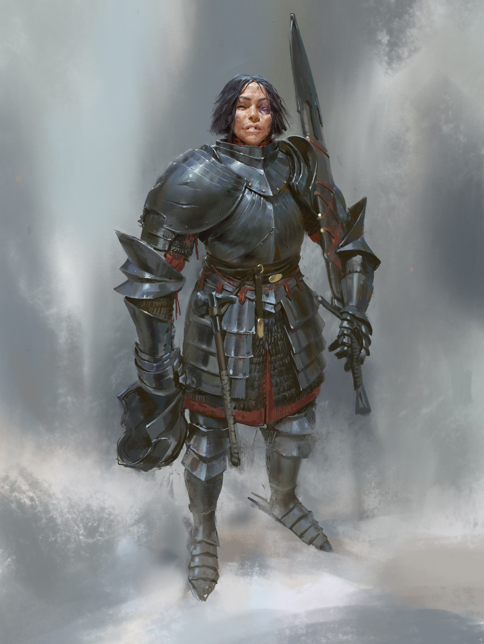 Even amundsen knight lady