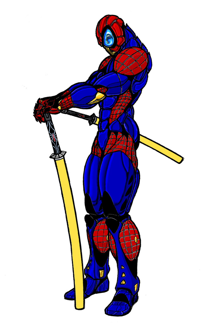 Ryan bailey spiderman web