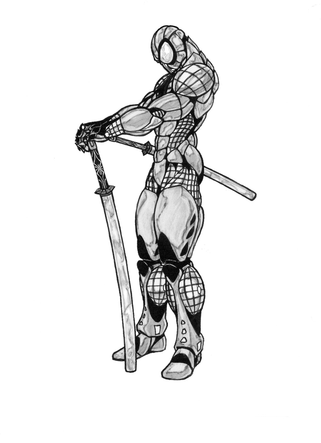 Samurai Spiderman
