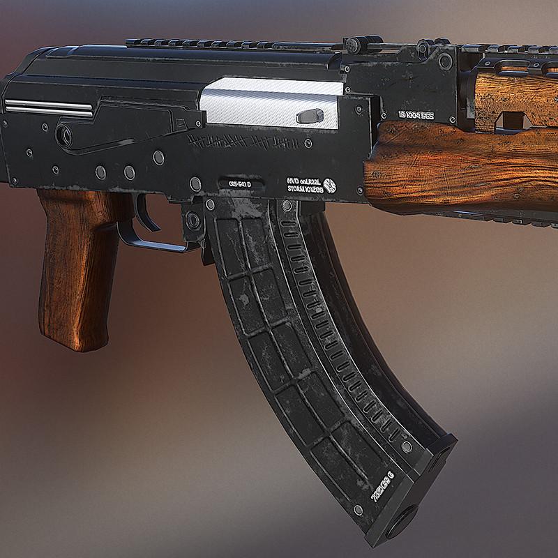 AK 47 - 3D