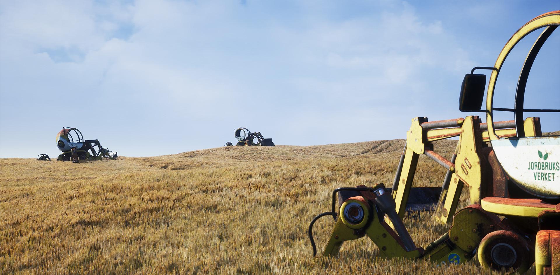 Wiktor ohman tractor alt shot