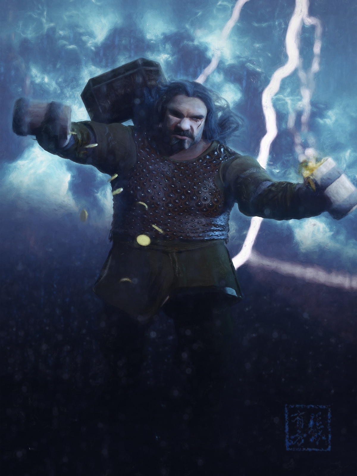 Grimnar McNasty - Storm Priest of Talos