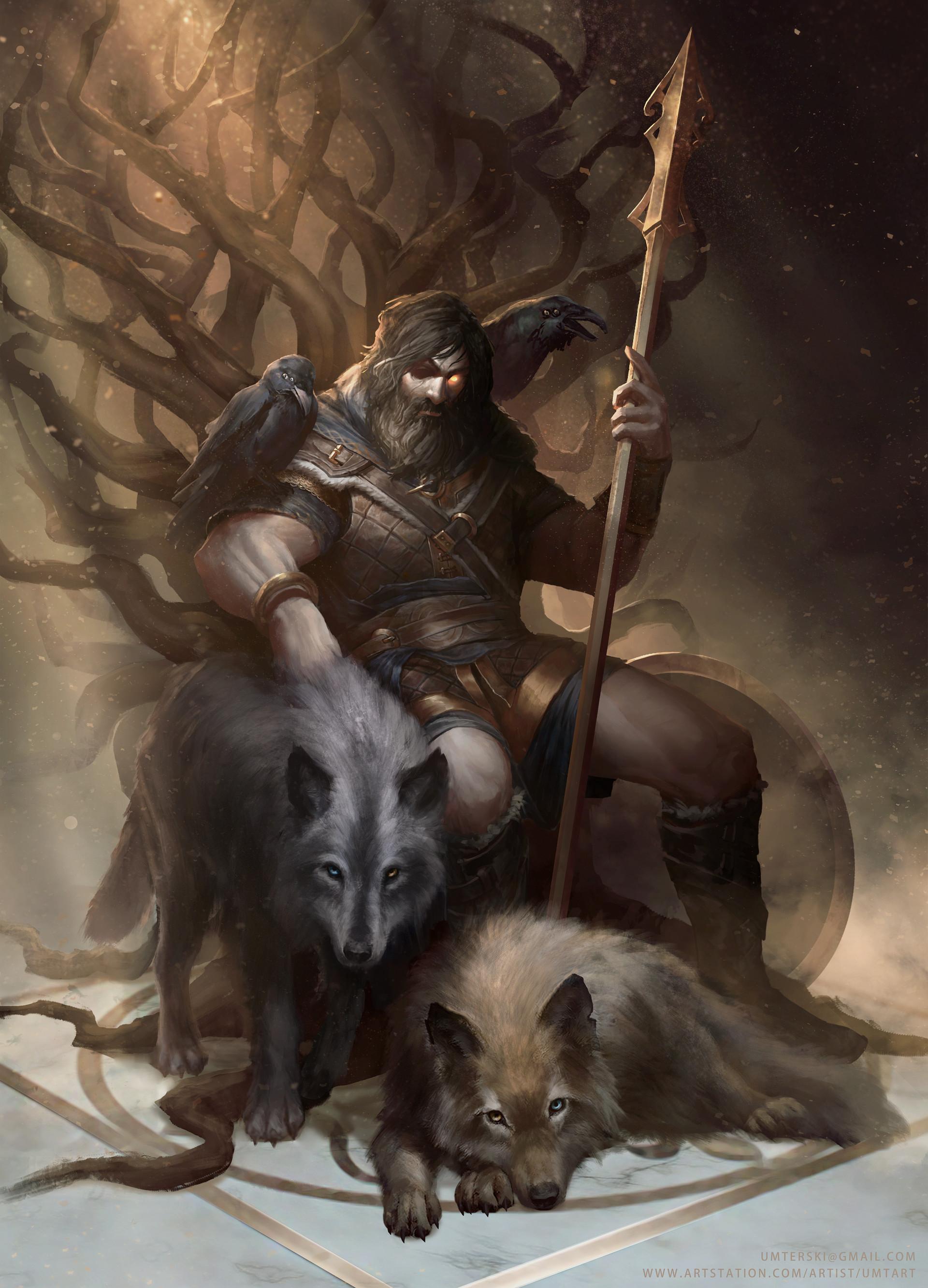 ArtStation - Odin The Allfather, Adam Wesierski